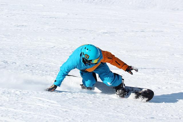 snowboard alpin