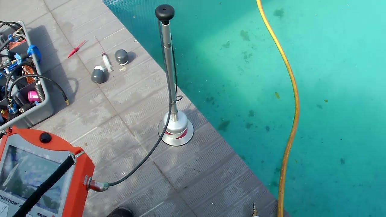 Comment trouver une fuite d'eau dans une piscine ?